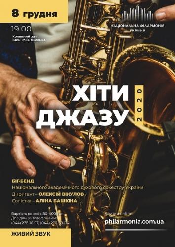 ХІТИ ДЖАЗУ. БІГ-БЕНД духового оркестру